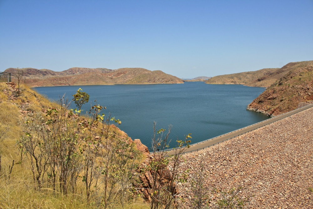 Lake Argyle - one big dam