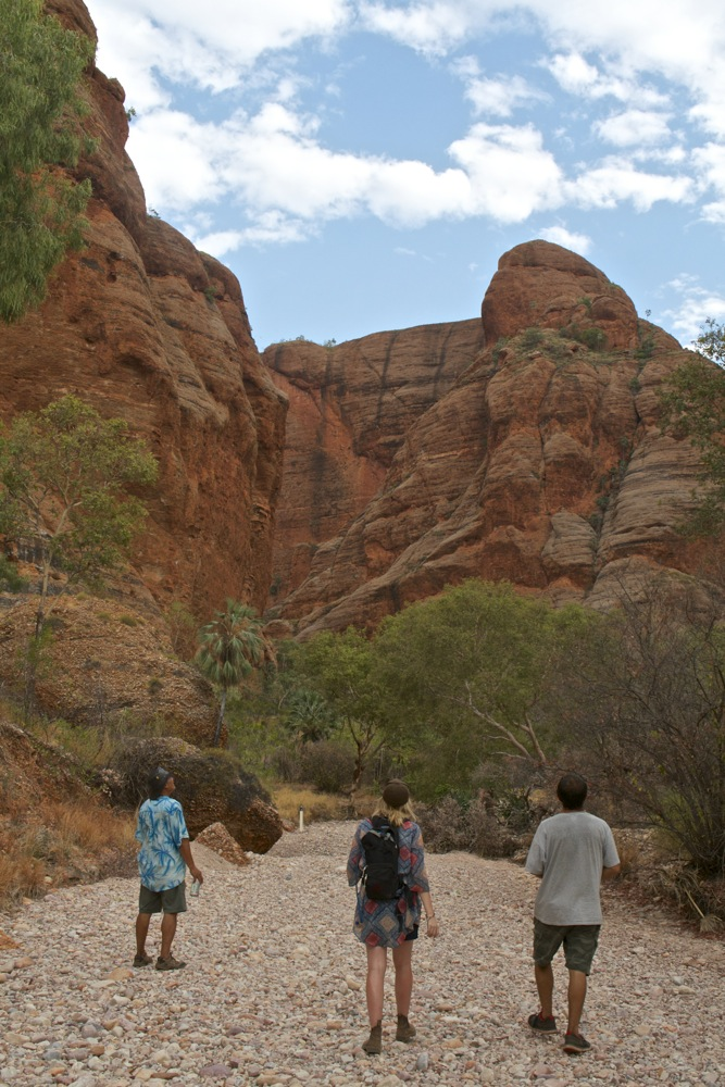 Walking to Homestead Gorge