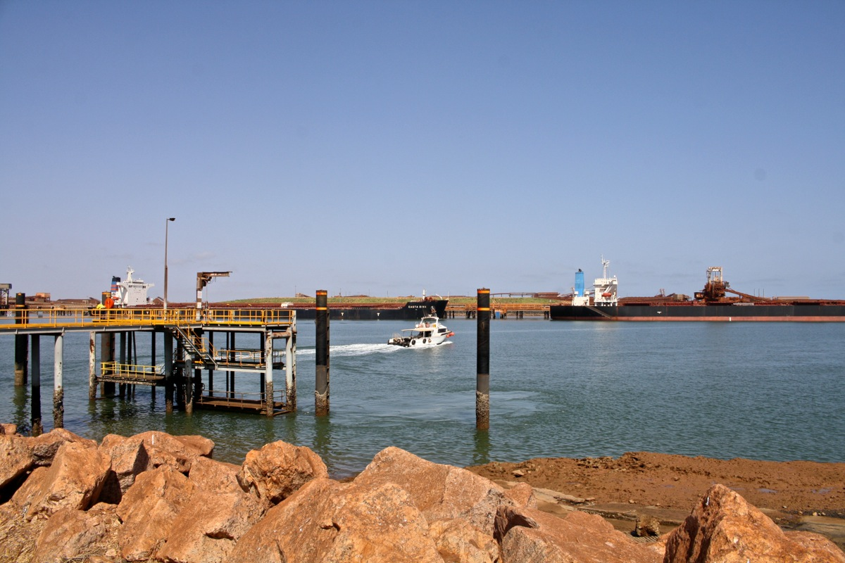 Comings and goings at Port Hedland