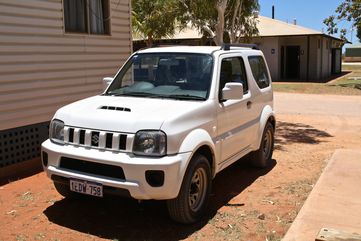 Our super girly cute 4WD hire car