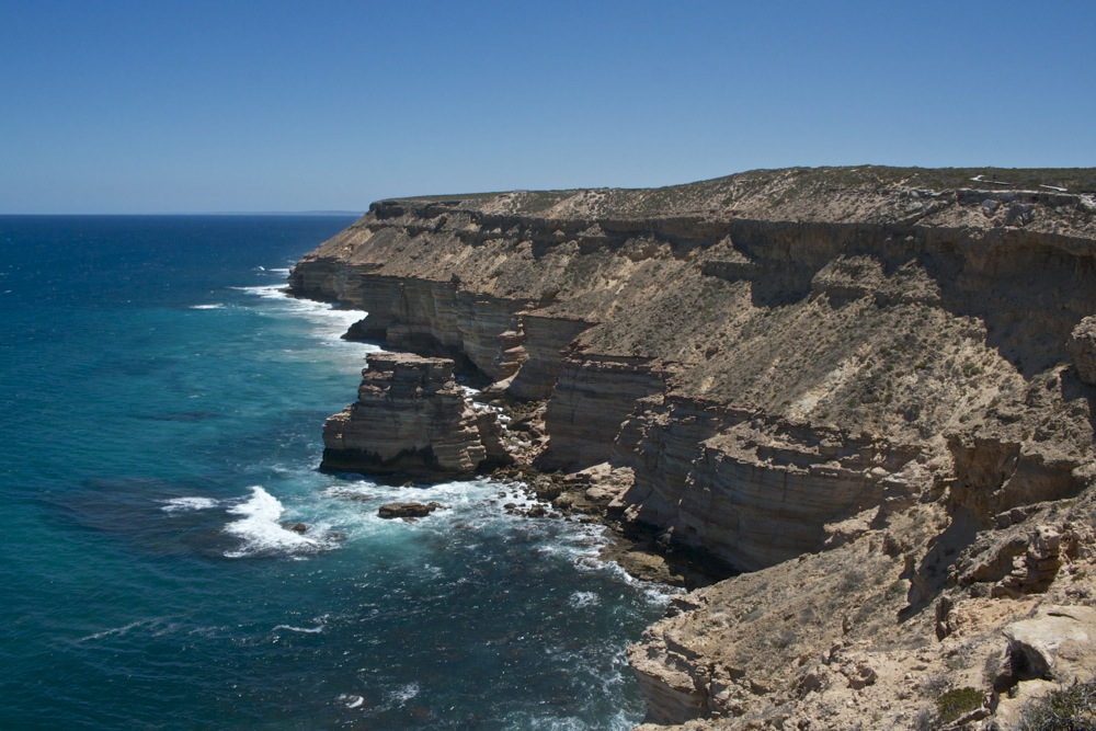 Awesome coastal cliffs at Kalbarri
