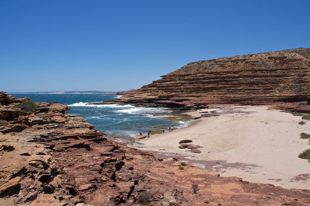 Great little beaches tucked away in Kalbarri